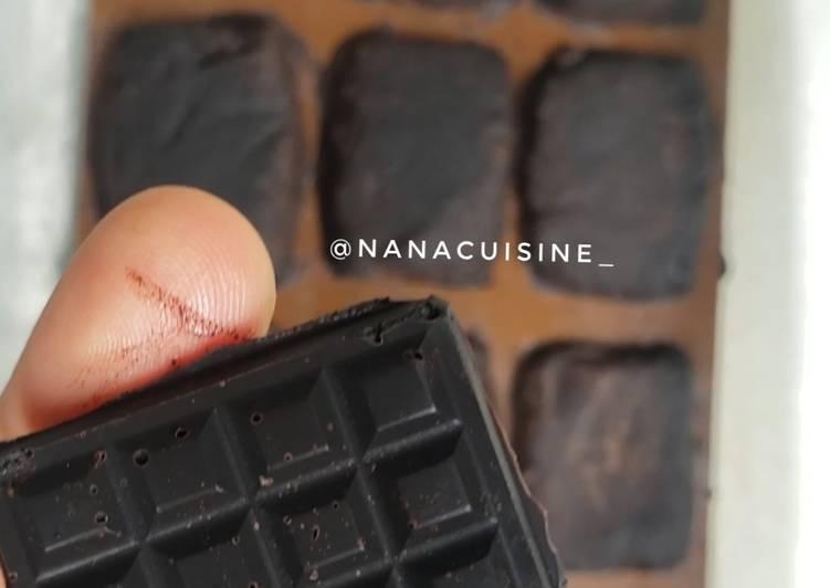 Resep Homemade DCC (dark chocolate cooking)