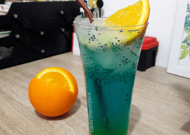 Resep Blue Ocean a la Pizza Hut