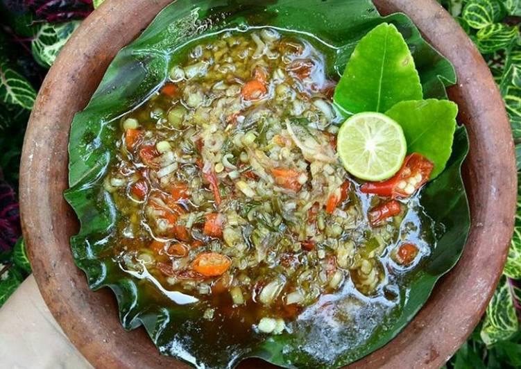 Resep Sambal Matah Bali