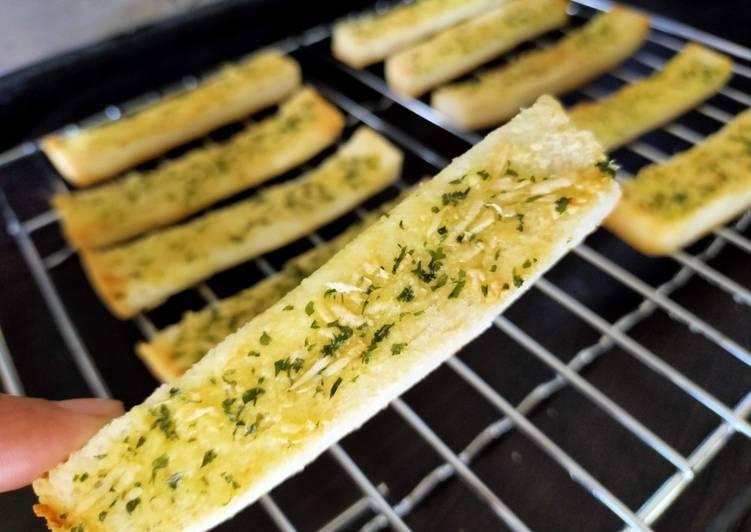 Resep Garlic bread keju