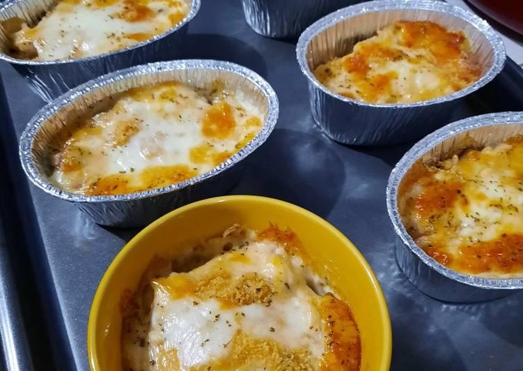 Resep Mozaru / Nasi Panggang / Mozzarella Baked Rice