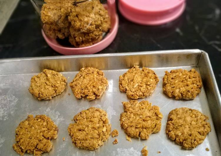 Resep Cookies cinnamon oat almond