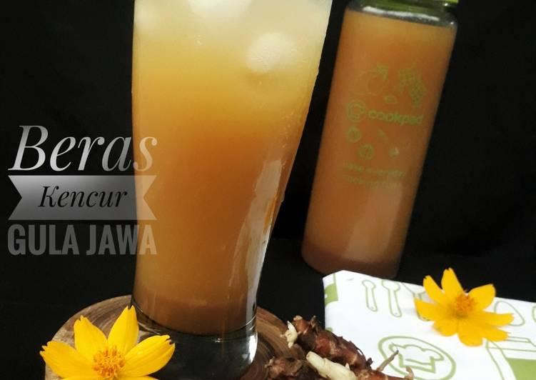 Resep Beras Kencur Gula Jawa