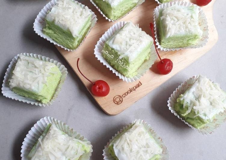 Resep Kue potong labu siam