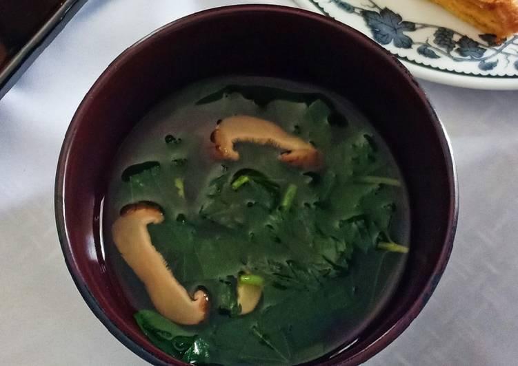 Resep Osuimono / Sayur Bening Jepang