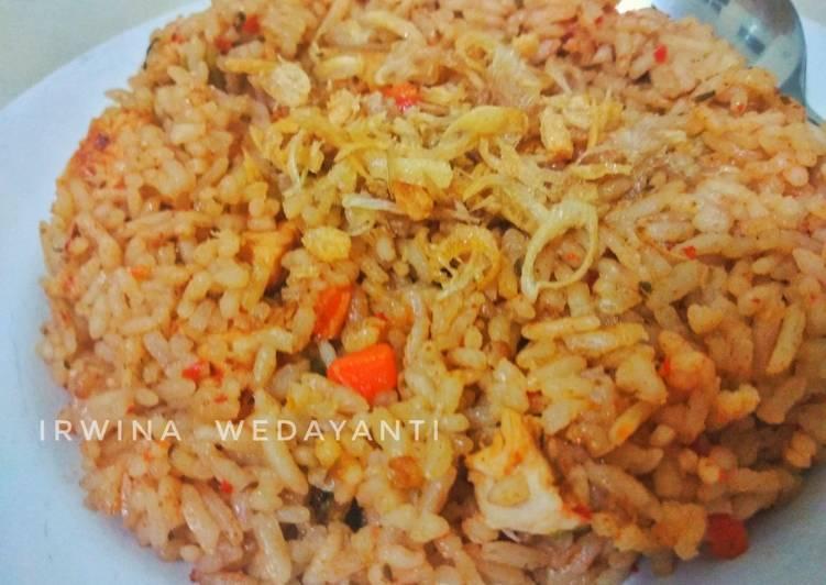 Resep Nasi Goreng Ayam Ricecooker