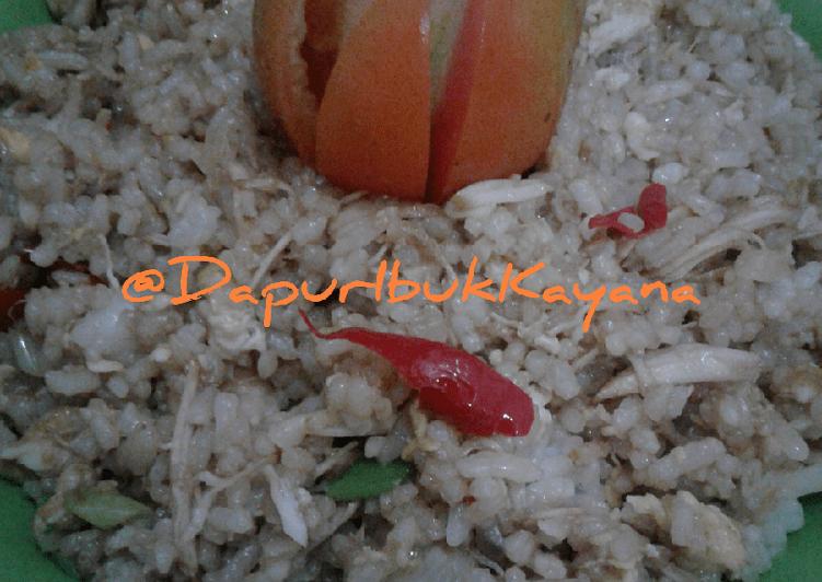 Resep NasGor Ayam Suwir Kids Spesial Pake Telur