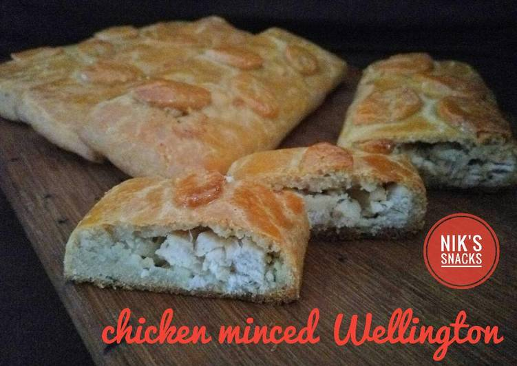 Resep Chicken minced Wellington #ketopad