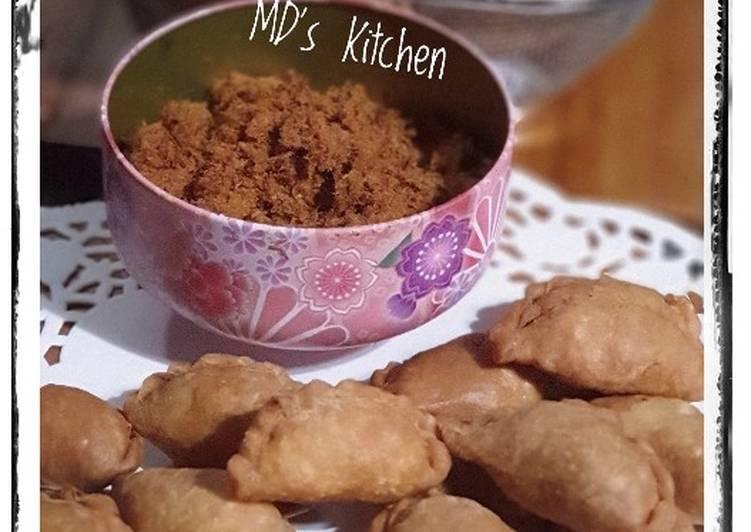 Resep Pastel Abon Mini Crispy