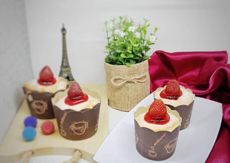Resep Hokaido Chiffon Cupcake