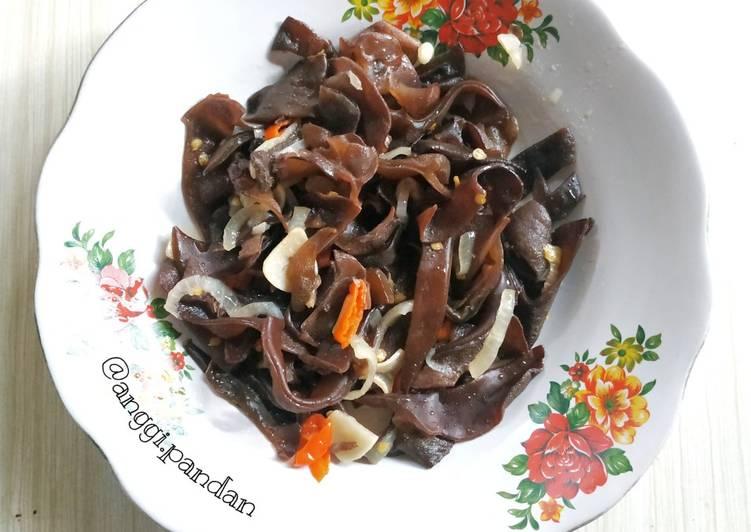 Resep Tumis jamur kuping