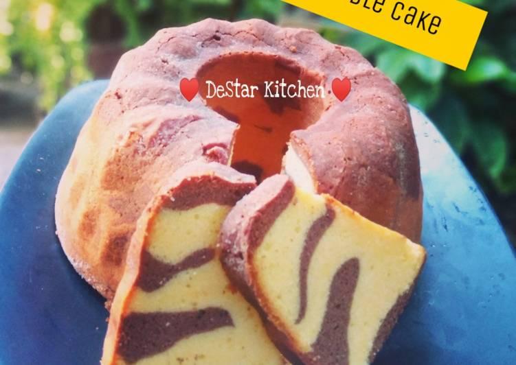 Resep Marmer Cake Premium