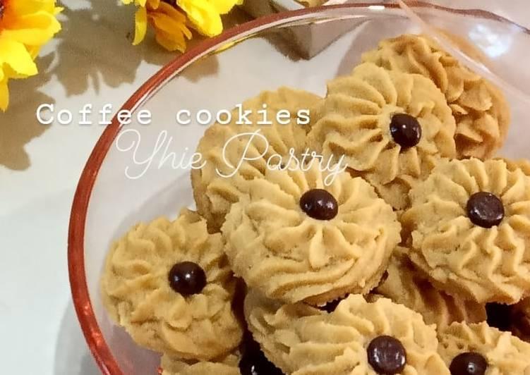 Resep Coffee cookies
