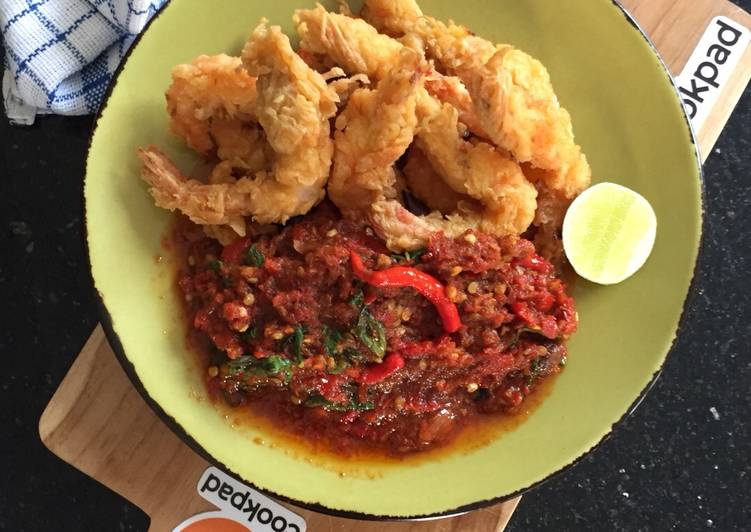 Resep Ikan Udang Masak Pedas
