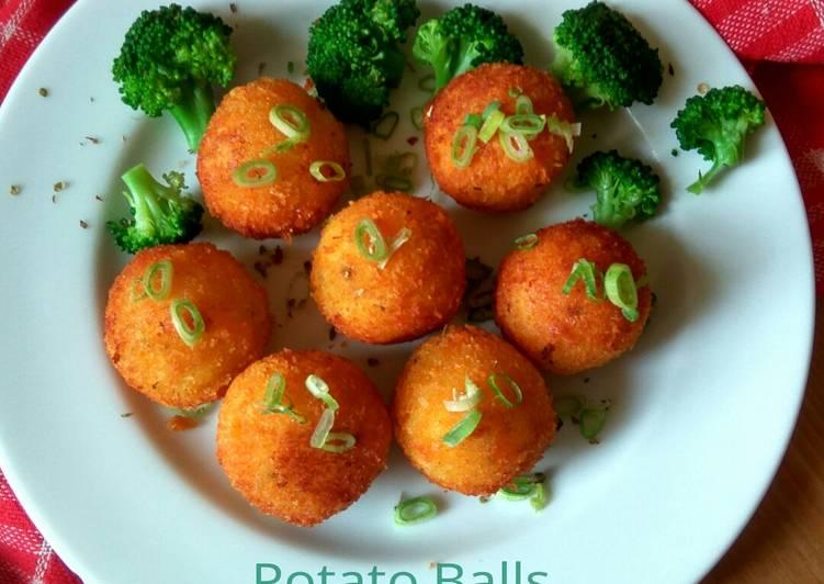 Resep Potato Balls