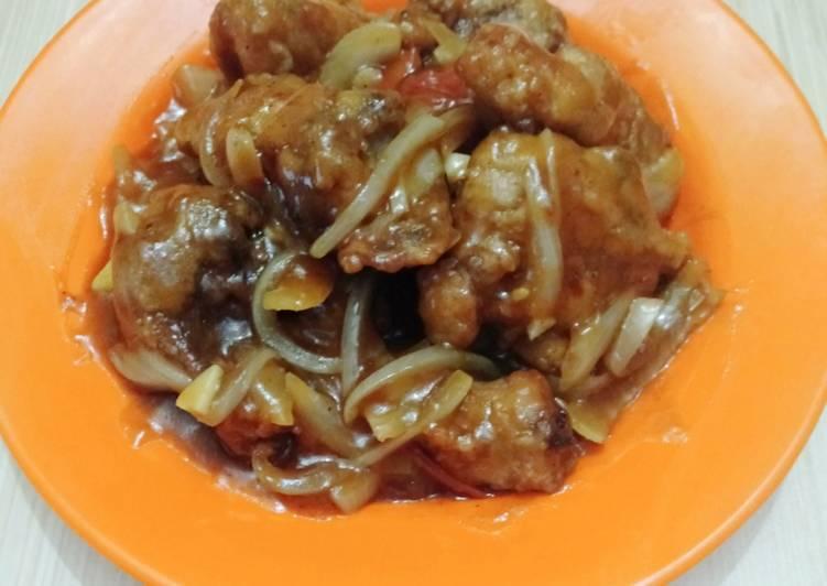 Resep 56.Ayam Crispy Saus mentega