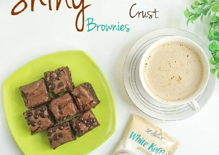 Resep Shiny Crust Brownies