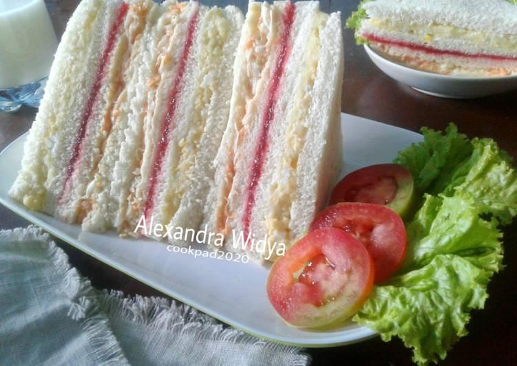 Resep Inkigayo Sandwich