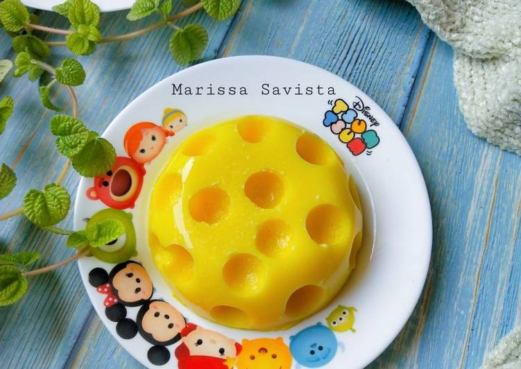Resep Cheese Pudding