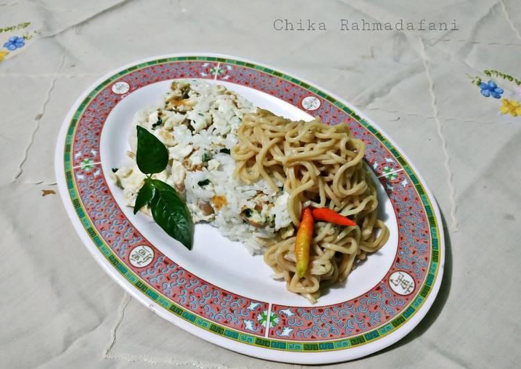 Resep Nasi Kepal Daun Cabe