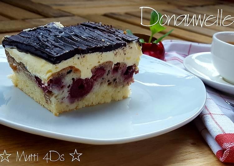Resep Donauwelle - Tart Marmer Cherry Jerman/Austria