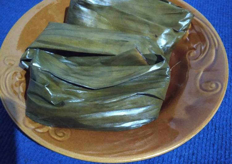 Resep Nagasari pisang lembut banget