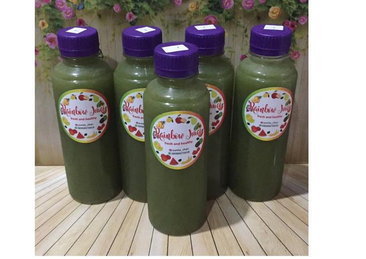 Resep Diet Juice Timun Suri Dates Kailan Lime