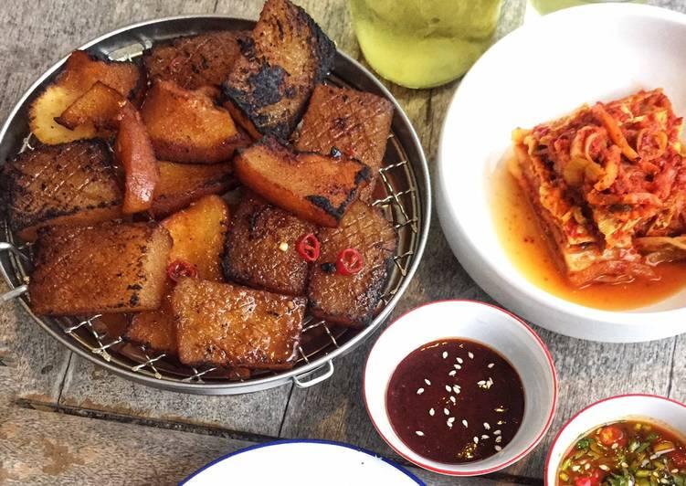 Resep Korean BBQ Beef Rind