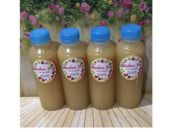 Resep Diet Juice Jack Fruit Apple Pear Grape