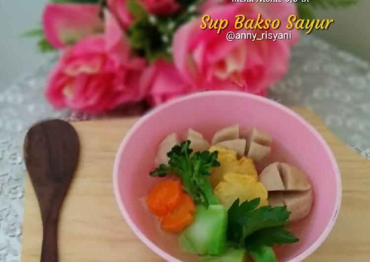 Resep Sup Bakso Sayur