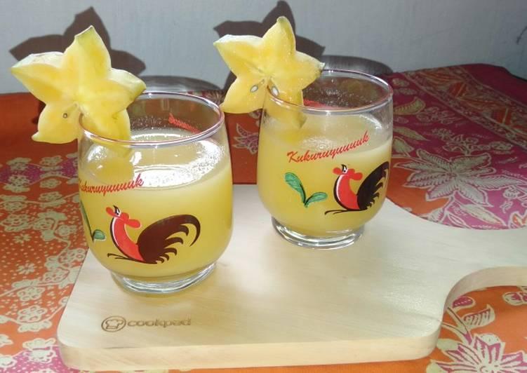 Resep Star Juice