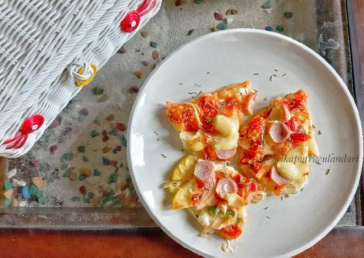 Resep Pizza Kentang Sederhana
