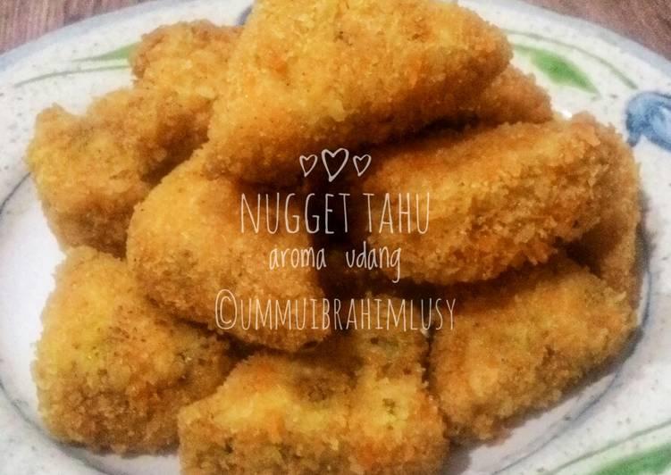 Resep Nugget Tahu Aroma Udang