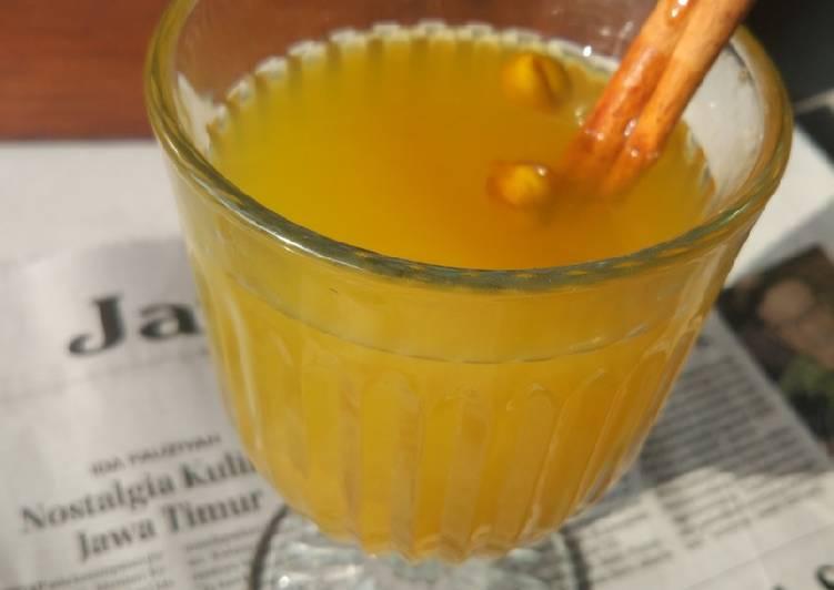 Resep Jamu kuning