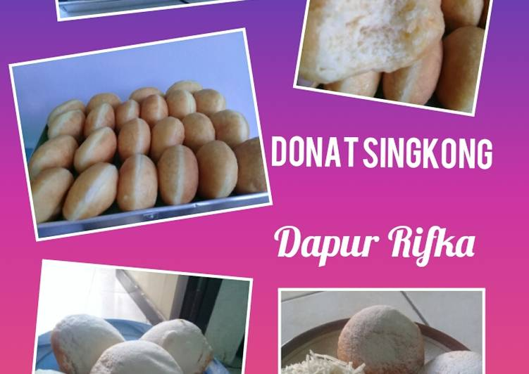 Resep Donat Singkong