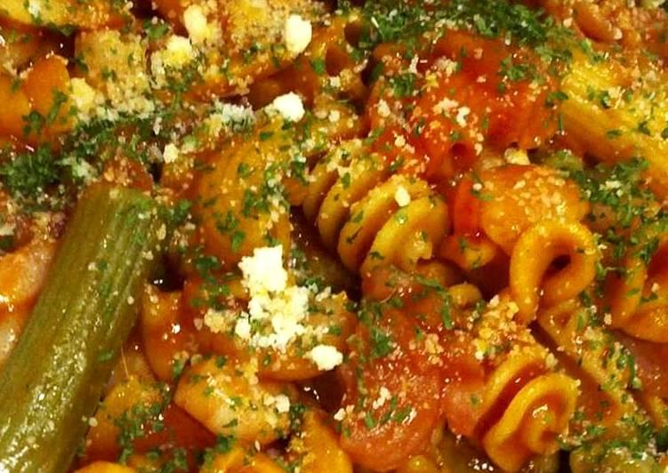 Resep Pasta udang saos tomat