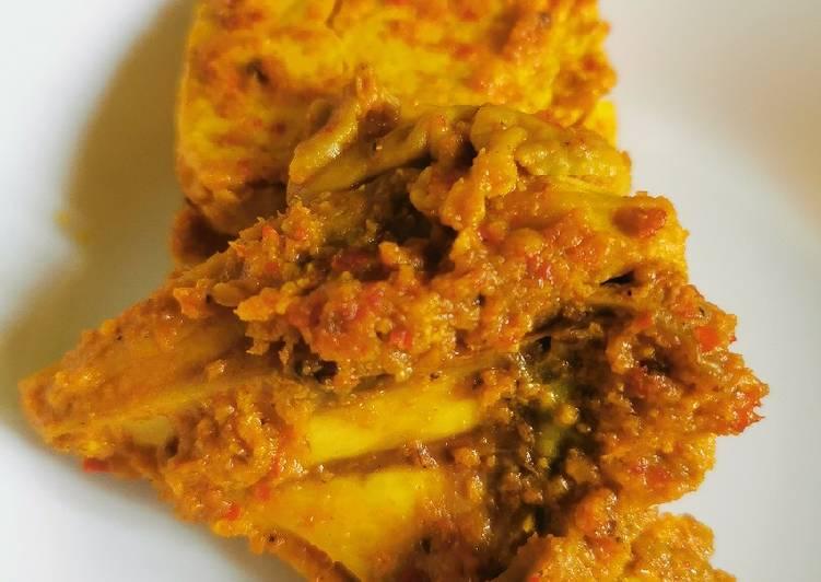 Resep Ayam panggang ala resto Padang
