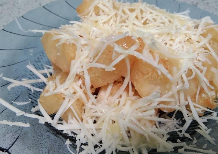 Resep Singkong Goreng Keju