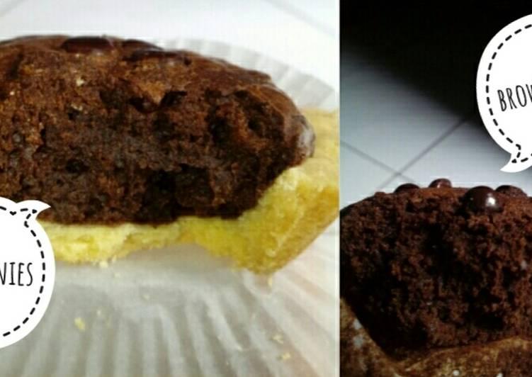Resep . Pie Shiny Fudgy Brownies #BeraniBaking