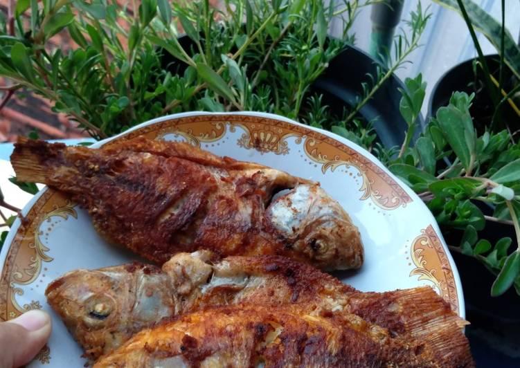 Resep Ikan nila goreng