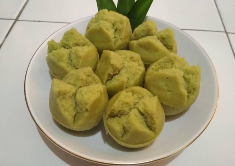Resep Kue Mangkok Pandan