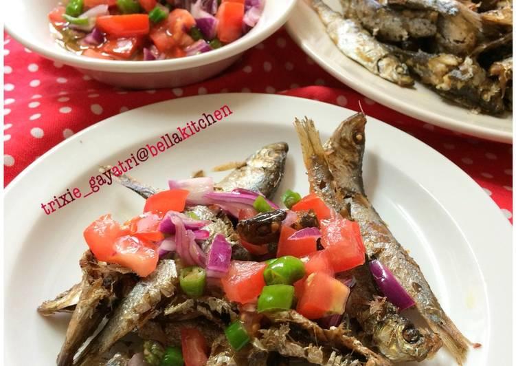 Resep Ikan Herring sambal Dabu