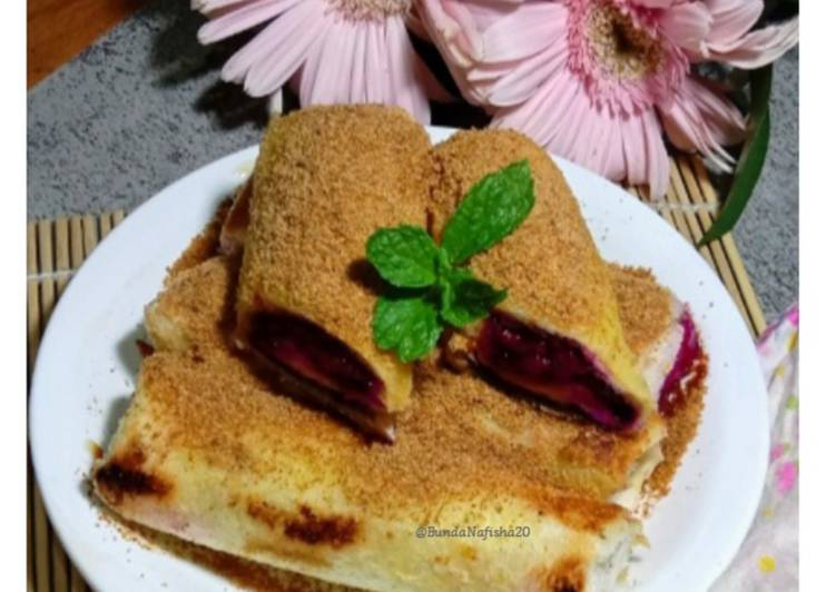 Resep Dragon Fruit Chocolate French toast