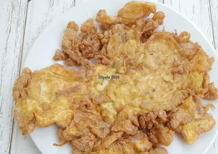 Resep Talua barendo | telur dadar minang