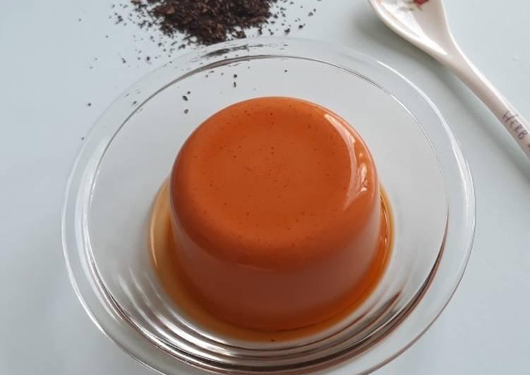 Resep Pudding Thai Milk Tea