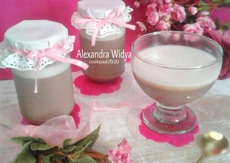 Resep Puding Tahu Coklat Vla Keju