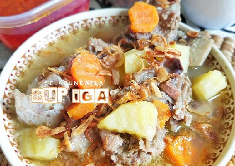 Resep Sup Iga