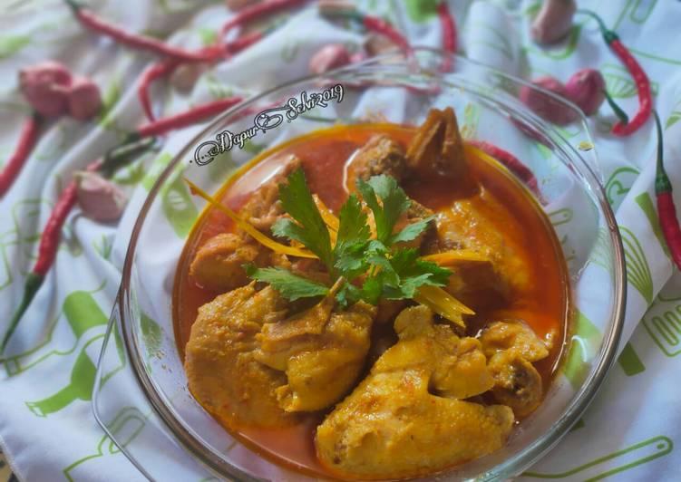 Resep Opor Ayam Bumbu Merah