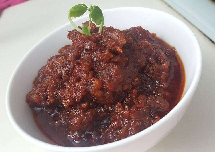 Resep Sambal kongwuji