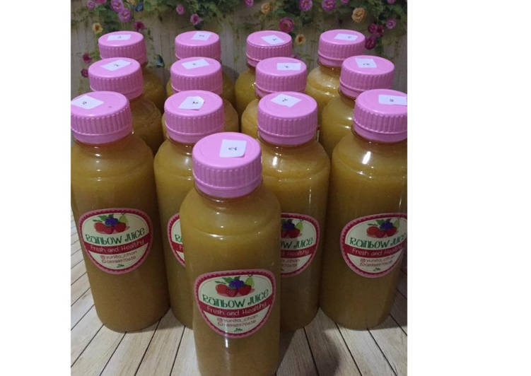 Resep Diet Juice Grape Longan Guava (Jambu Kristal) Pumpkin